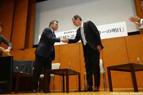 【全文掲載・後編】注目のJFA会長選へ――原専務理事、田嶋副会長が語る日本サッカー界の明日
