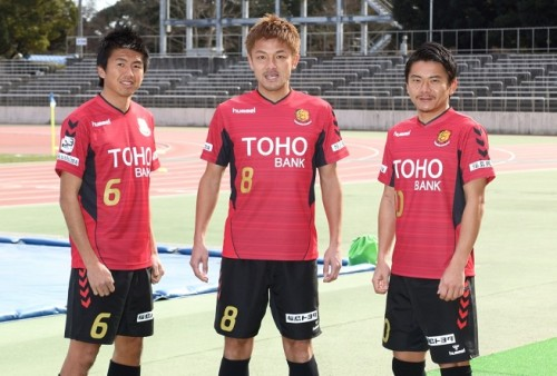 [PR]福島ユナイテッドFCが新ユニフォームを発表…復興の陽射しが昇りゆく様をイメージ