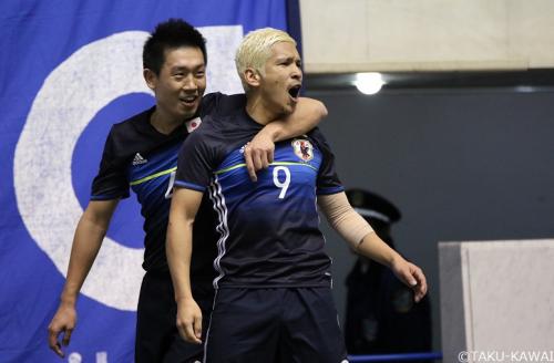 フットサル国際親善試合…日本代表がコロンビアの追撃を振り切り勝利