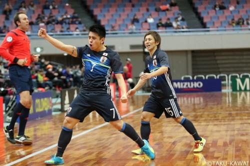 フットサル国際親善試合、日本代表がコロンビア代表に2連勝でAFCフットサル選手権に弾み