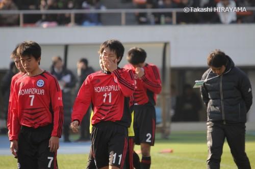 駒澤大高が奮闘するも、最後は東福岡が勝ちきる/選手権準々決勝