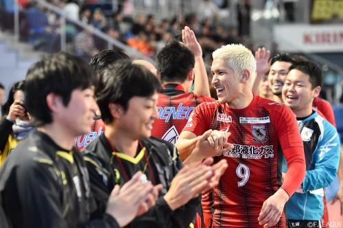 Fリーグ9連覇の名古屋・・・フットサル日本代表・森岡薫との契約更新せず