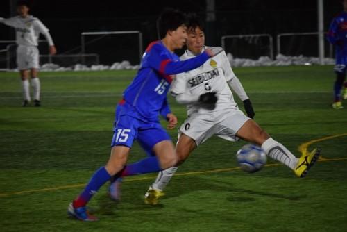 西武台がFC東京U-18との接戦を制し、首位浮上/十文字サッカーフェスティバル男子