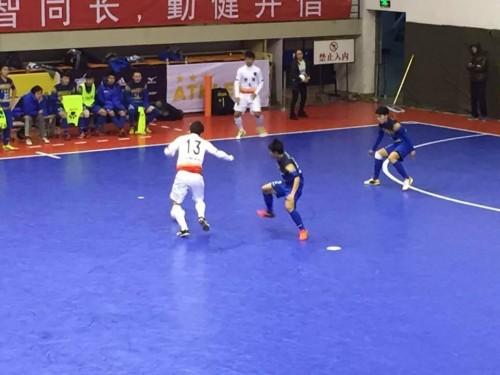 中国フットサルリーグ フットサル日本代表・渡邉「大事な1戦で勝利できたことを嬉しく思う」