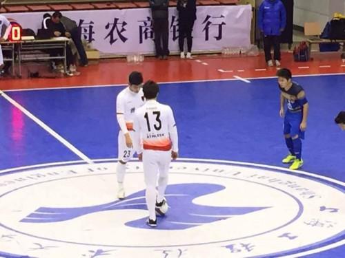 中国フットサルリーグ フットサル日本代表・渡邉所属の大連はアウェイ勝利で開幕8連勝