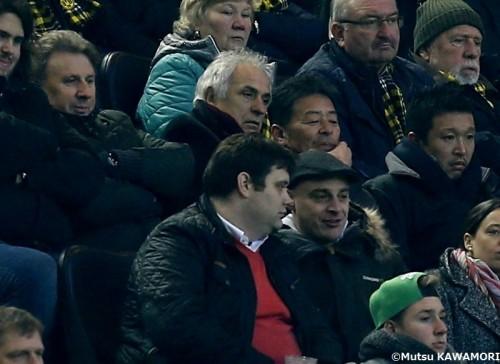 ハリル、欧州視察で内田、武藤の負傷状況を確認「復帰を楽しみにしている」