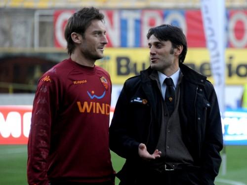 モンテッラ監督が盟友トッティにラブコール「サンプドリアに来ると良い」
