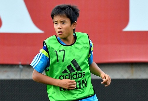 U-16日本代表が練習試合で藤枝東とドロー、静岡学園に敗戦