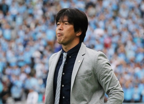 J1への思いを簡潔に語った磐田・名波監督「選手とともに楽しみたい」