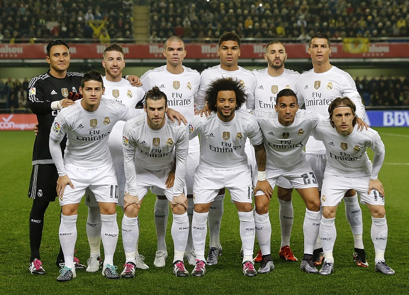 VILLARREAL, SPAIN - DECEMBER 13: ... of Real Madrid ... during the La Liga match between Villarreal CF and Real Madrid CF at El Madrigal on December 13, 2015 in Villarreal, Spain. (Photo by Angel Martinez/Real Madrid via Getty Images)
