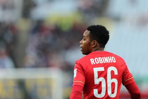 ロビーニョ、広州と契約満了で母国復帰…アトレチコ・ミネイロ加入