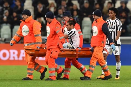 ユーヴェDFカセレス、またも負傷…右アキレス腱の断裂で今季絶望に