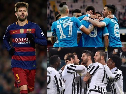 バルサのピケ、セリエA優勝争いに注目「ナポリのサッカーが好き」