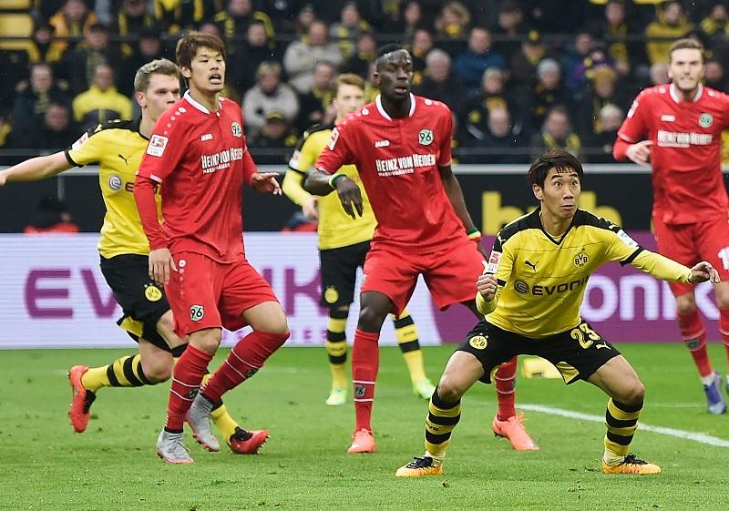 +++ during the Bundesliga match between Borussia Dortmund and Hannover 96 at Signal Iduna Park on February 13, 2016 in Dortmund, Germany.