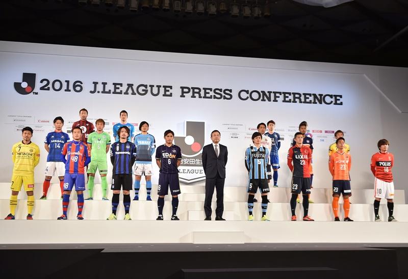 2016年のJ1リーグ