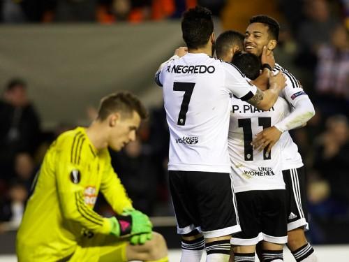2試合合計10-0…バレンシア、EL新記録の圧勝で16強進出
