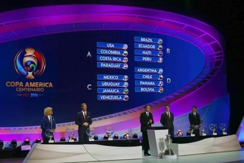 コパ・アメリカ2016の組合せ決定…前回王者チリとアルゼンチンが同組に
