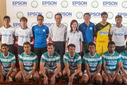 エプソンがSリーグ・ゲイランFCのメインスポンサーに