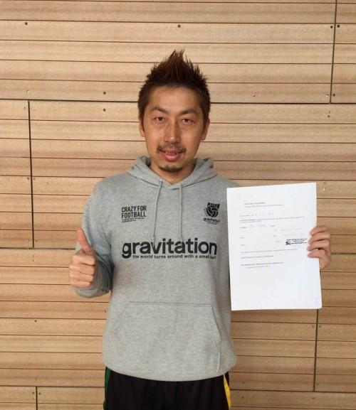●田島翔がマイアミ・Uに加入…元ブラジル代表アドリアーノとチームメートに