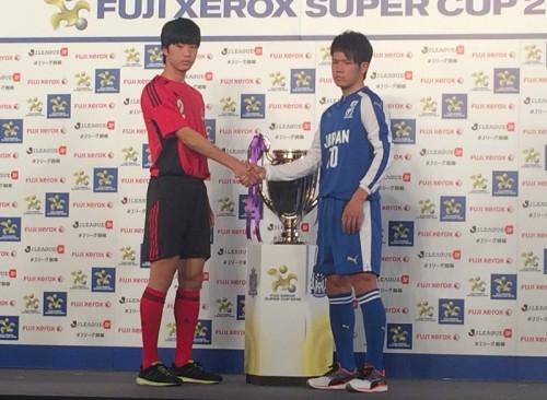 Jユース選抜と高校選抜が激突…東福岡MF中村「球際やメンタルで圧倒したい」