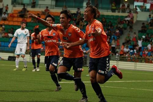 シンガポールリーグ開幕、新潟Sが昨季王者に3点奪い白星スタート