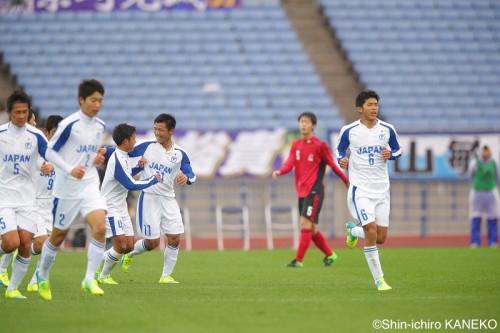 U18Jリーグ選抜と日本高校選抜、7度目の対決はお互い譲らずドロー決着