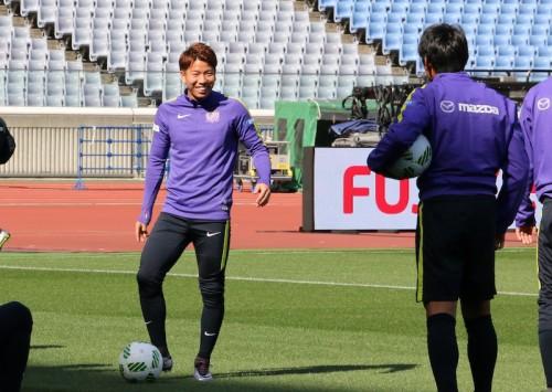 広島FW浅野、新背番号10で初の公式戦へ「ゴールで勝利に貢献したい」