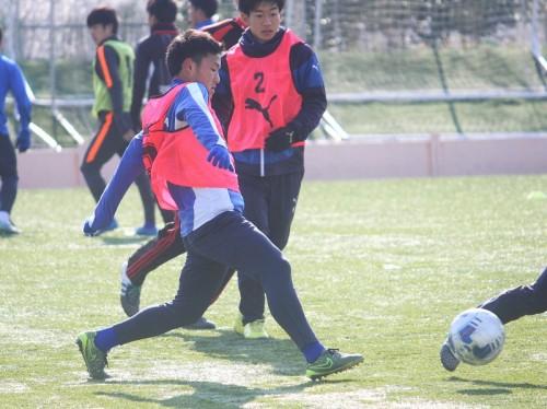 【高校選抜/注目選手1】古屋誠志郎(市立船橋)…献身的なサイドバック