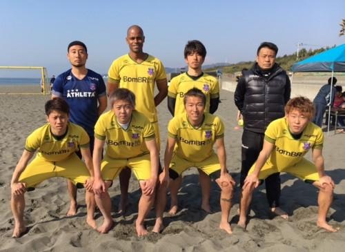 ●ビーチサッカープレリーグで「Fusion」が2連勝…日本代表の茂怜羅オズが計4得点
