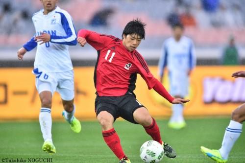 同点弾の神戸U-18向井「まずは神戸で日本一。そして東京五輪を目指したい」