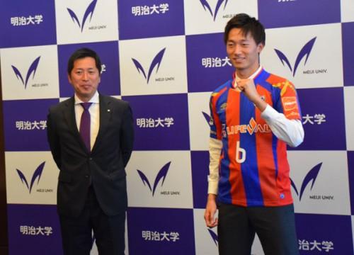 背番号は「6」に決定…FC東京加入の室屋成「戻ってきてポジションを奪いたいと思っていた」