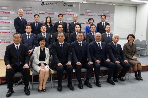 Jリーグ新理事の意気込みを一挙紹介! 原副理事長「Jリーグを世界水準にするために」
