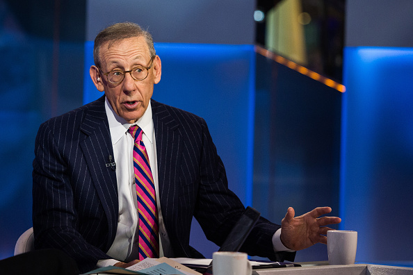 Stephen Ross, chairman of Related Cos. LP and owner of the Miami Dolphins, speaks during a Bloomberg Television interview in New York, U.S., on Monday, Feb. 1, 2016. Ross discussed market volatility and his investment strategies. Photographer: Chris Goodney/Bloomberg via Getty Images