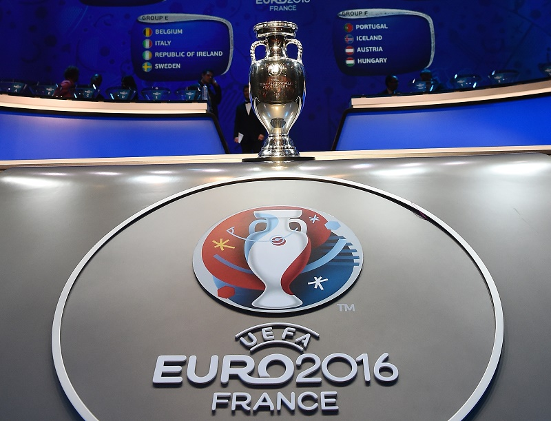 during the UEFA Euro 2016 Final Draw Ceremony at Palais des Congres on December 12, 2015 in Paris, France.