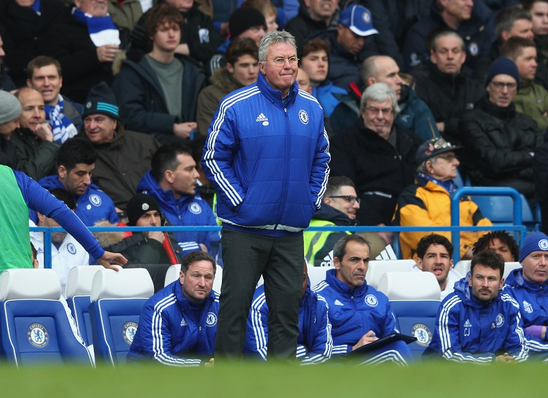 during the Barclays Premier League match between Chelsea and Stoke City at Stamford Bridge on March 5, 2016 in London, England.