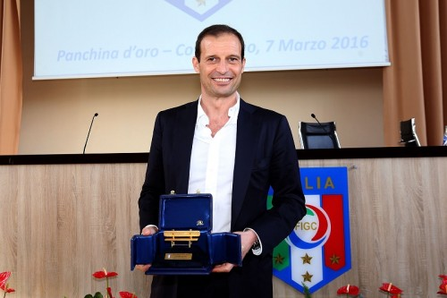 アッレグリ監督が昨季のセリエA最優秀監督賞に選出「選手のおかげ」