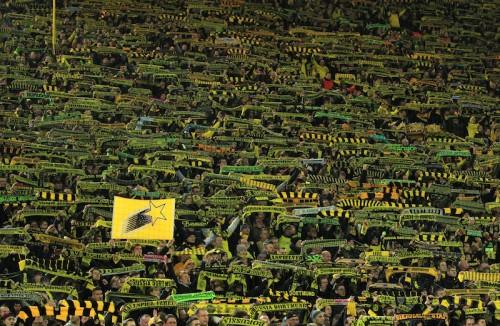 香川ゴールの裏で悲劇…ドルトムントサポが試合中に心臓発作で死去