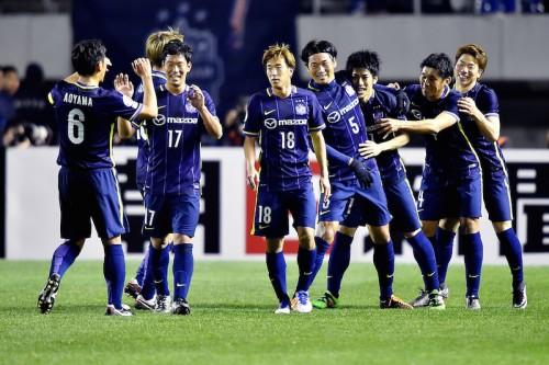 浅野が2得点でジャガーポーズ連発…広島、ACL初勝利で公式戦6試合ぶり白星