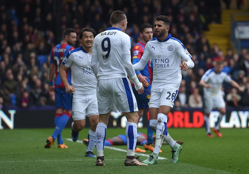 xxxx during the Barclays Premier League match between Crystal Palace and Leicester City at Selhurst Park on March 19, 2016 in London, United Kingdom.
