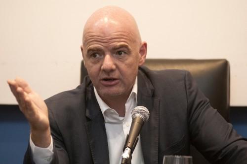 FIFA会長、W杯100周年記念大会の共催を支持「歴史を尊重」