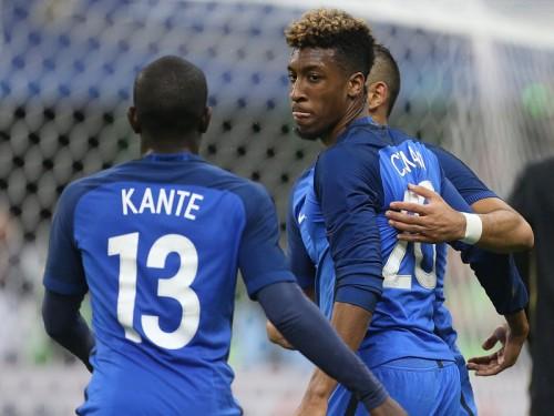 岡崎の同僚カンテ、19歳コマンが代表初得点…フランスがロシア撃破