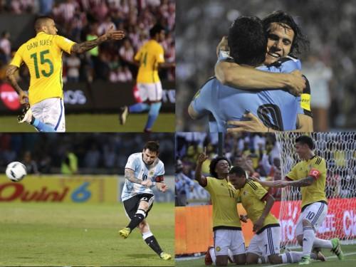 メッシが代表通算50ゴール…ウルグアイ、カバーニ弾を守りきり首位浮上/W杯南米予選