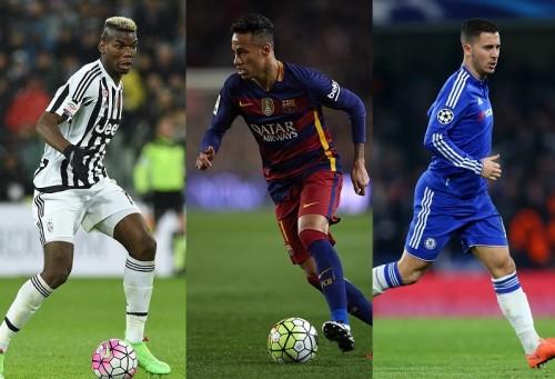 レアルの補強候補12名をスペイン紙が紹介…ポグバ、アザール、ネイマールら