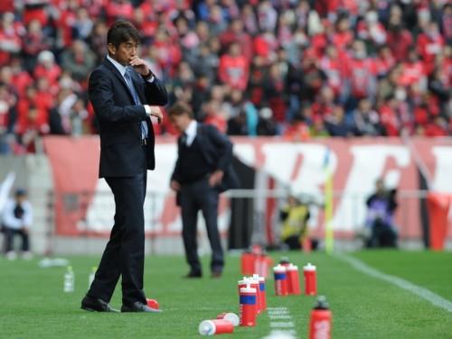 浦和に完敗の福岡、J1白星はお預け…井原監督「力の差を痛感した」