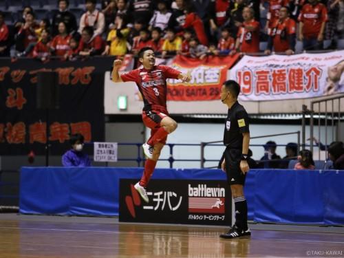 第21回全日本フットサル選手権大会…逆転勝利の町田、接戦を制した名古屋が決勝進出