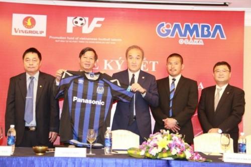 ベトナムPVF U15の町中監督、「2年後にはG大阪にも勝てるチームに…」