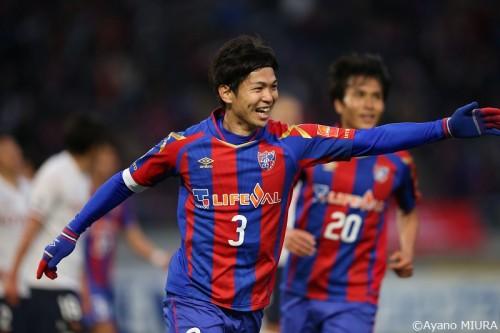 FC東京、森重2発&平山の復活弾で名古屋に逆転勝ち…最後は10人で逃げ切る