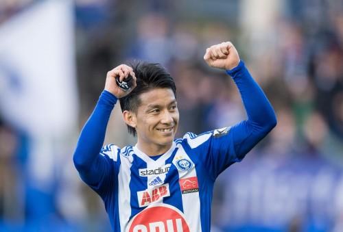 田中亜土夢がリーグ開幕戦で2ゴール…HJKヘルシンキの白星発進に大きく貢献