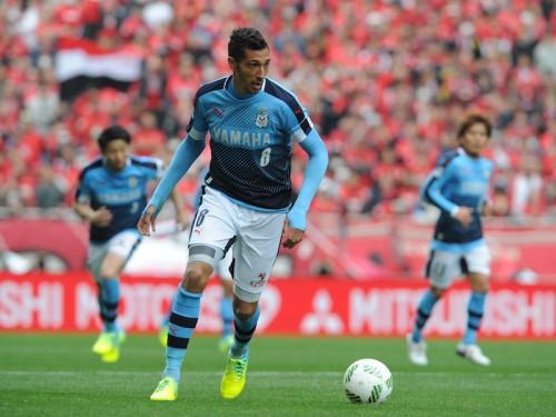 左足負傷の磐田FWジェイ、回復が遅れて練習合流まで約4週間の離脱