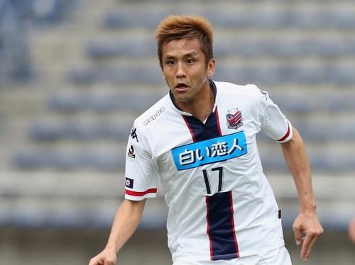 札幌での初得点挙げた稲本、日韓W杯を回想「2002年のゴール思い出した」